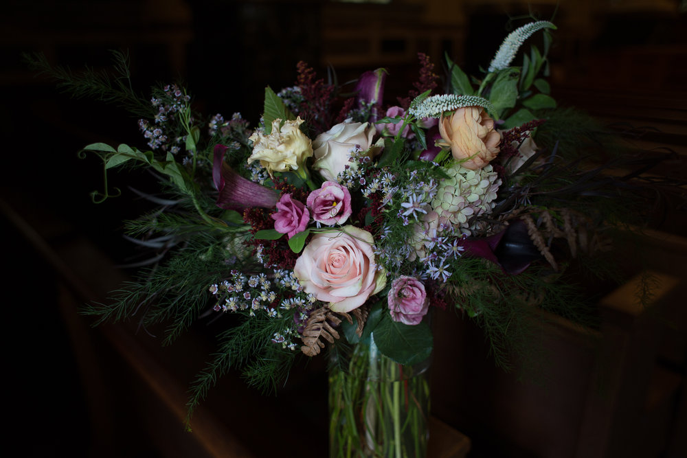 Stitchdown Farm bridal bouquet