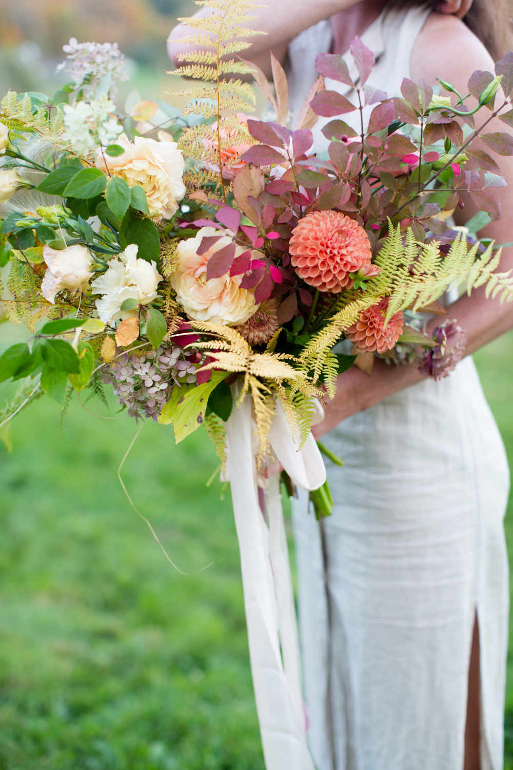 Vermont wedding florist local flowers