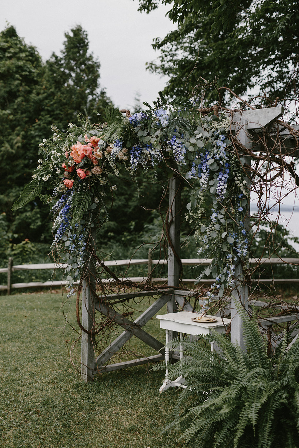 Stitchdown Wedding Arbor
