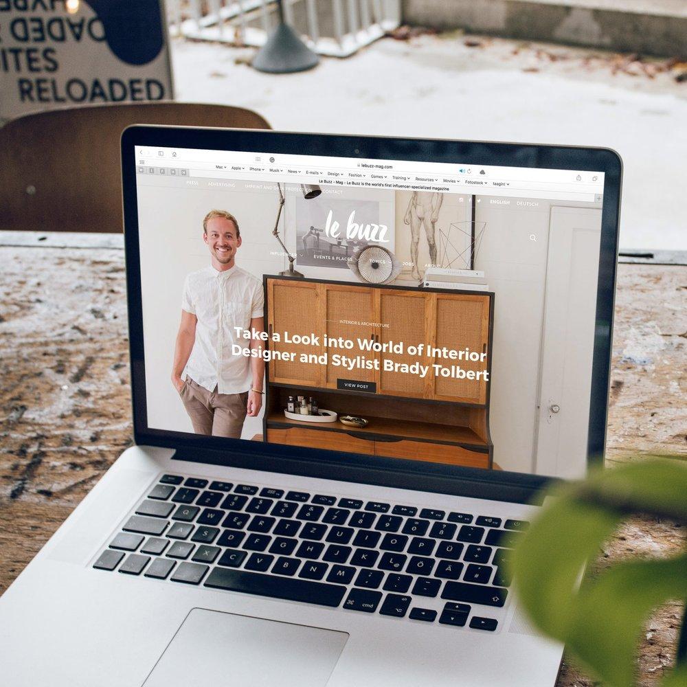 Website + branding - Squarespace + Showit