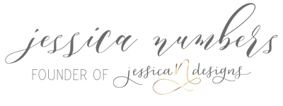 Jessica Numbers | Founder of jessicaNdesigns