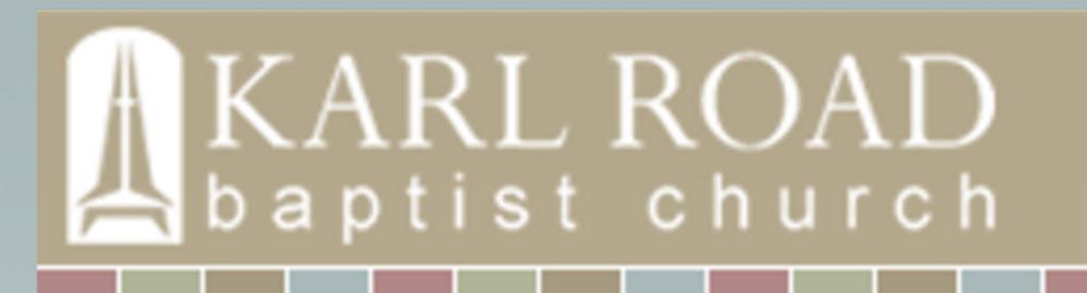 Karl Road Baptist Church, CloudCover Customer