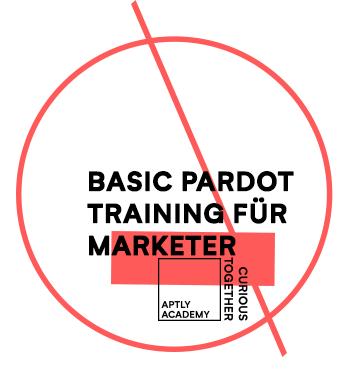 Salesforce Pardot Training in Köln, Deutschland: Erste Schritte in Pardot