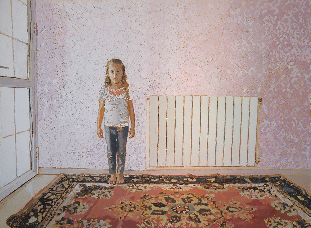 Lara #1, 2013, oil on canvas, 130x180 cm, private collection, France