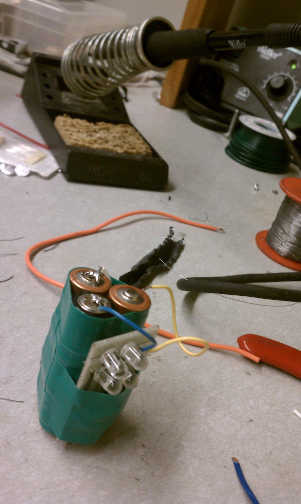 IR Transmitter Prototype