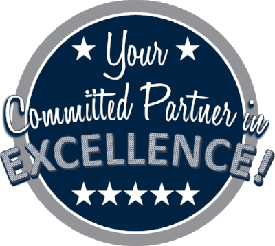 Your committed partner in excellence circular logo
