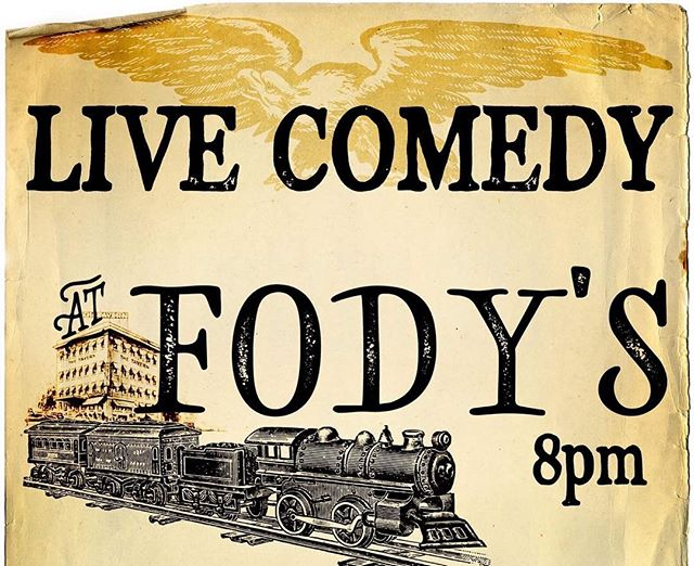 Fody's Comedy tonight with Marty Caproni, Alana Foden, Ralphie Joyal, Dominique Pascoal, Kristin O'Brien, Rich McCabe and special guests. 8:00, 9 Clinton St. Nashua, NH. $10.00 cash at the door. Call or text 603-732-2845. #comedy #nashuanh #fodystavern