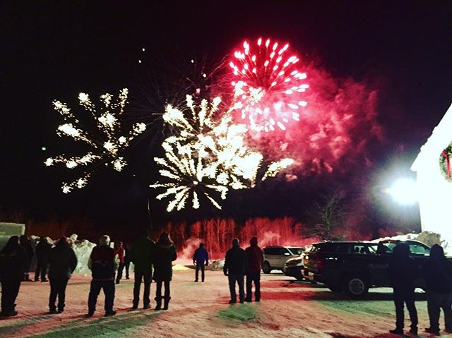 Sometimes unexpected things happen at a comedy gig, like fireworks in the dead of winter in northern NH. #comedy  #nh #gorhamnh #townandcountryinnandresort