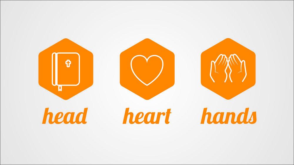 Head. Heart. Hands.