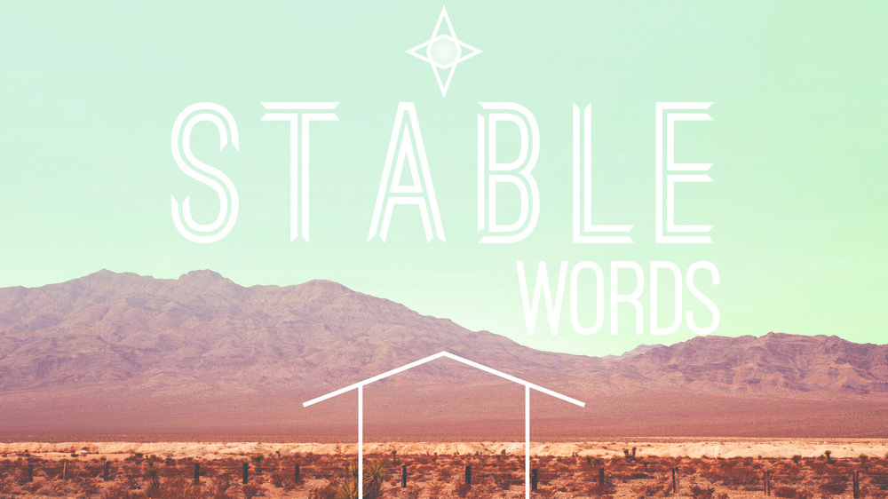 Stable Words God is WITH Us