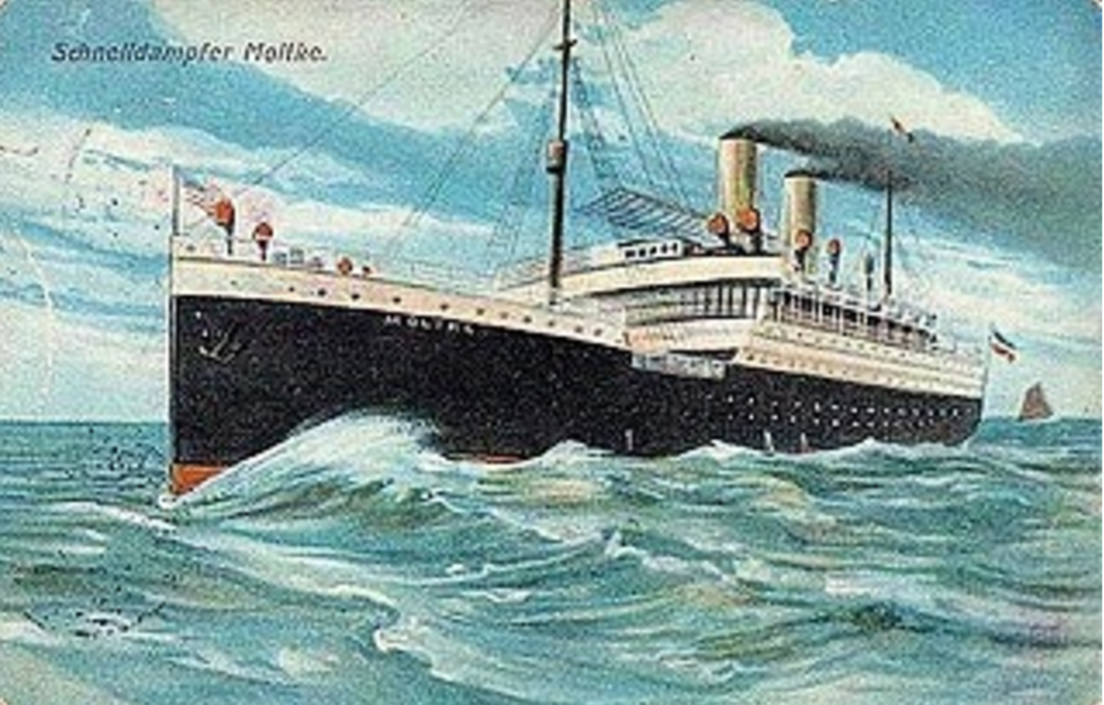 Celsa's great grandmother left Italy on this ship to come to America