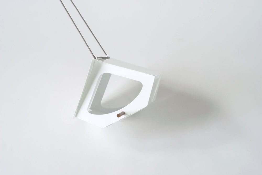 BEEKMAN Bird Feeder, White | Modern Outdoor Living / @shiftmakes | Browse at www.shiftmakes.com/beekman