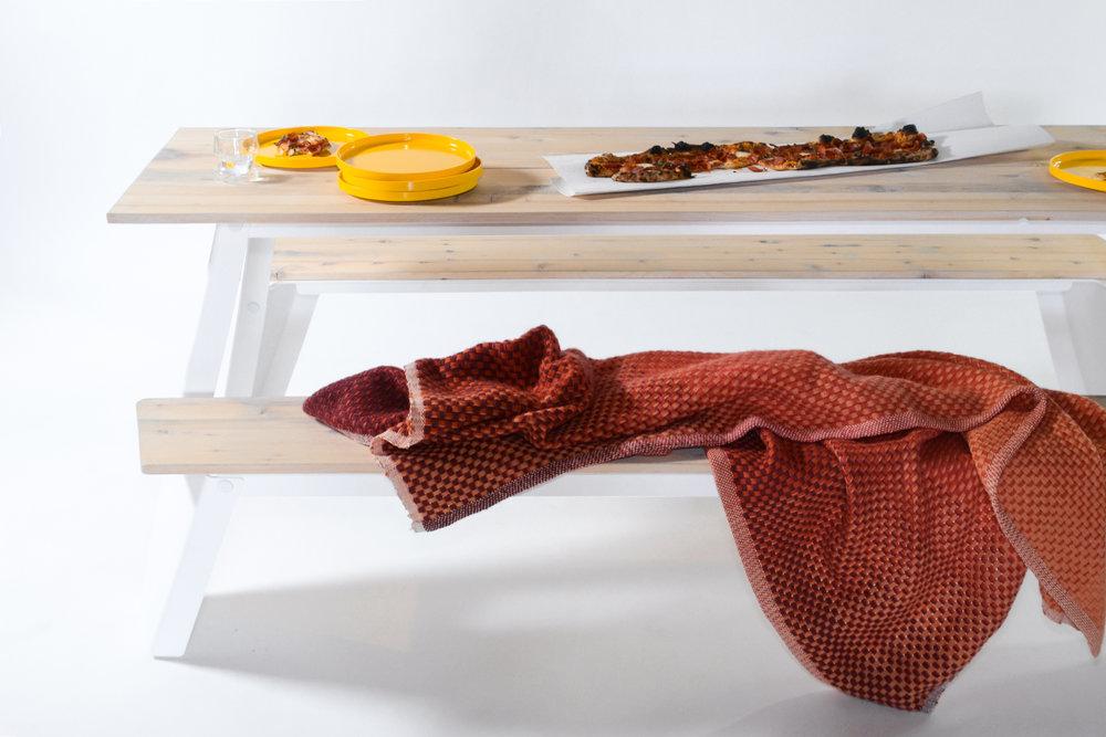 RAMBLER Picnic Table - Vetri Metro Pizza, Heller Plates, Not Neutral, Simon Key Bertman