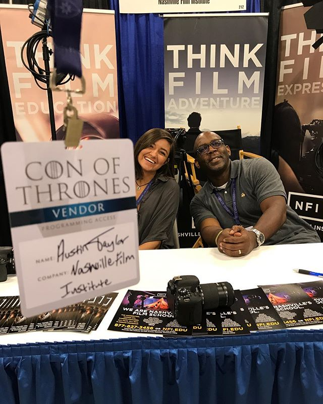 Come to The Opryland Hotel where the Con of Thrones is happening! We have 3 extra passes left hurry before they go away! #cinematographer #cinema #theNFI #thelifeofanactor #dreambelievefilm #director #canon #olivia #mike
