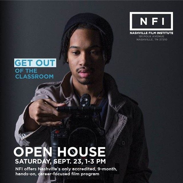 Make plans to attend our open house!  Meet the staff and tour the school. A great way to learn more about nfi!  #Filmmakers #filmschool #thenfi #dreambelievefilm #makeyourdreamareality #filmstudent #openhouse #capturelife