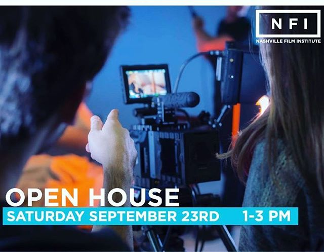 One week till our open house!  #filmschool #theNFI #dreambelievefilm #cinemaproduction #openhouse