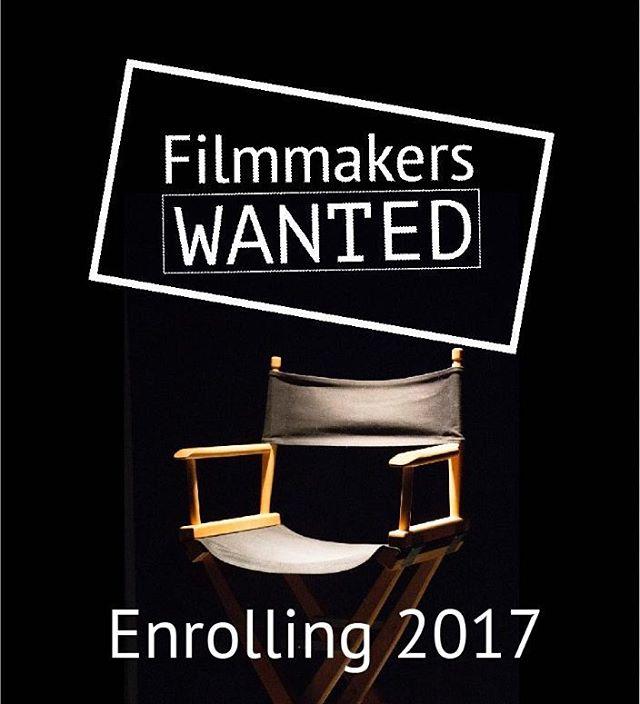 #filmmakerswanted #futurefilmmakers #theNFI #film #enrolling #wanted #emptychair