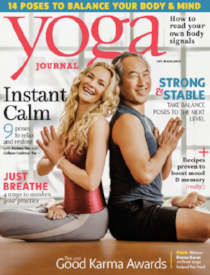 September, 2016  Yoga Journal