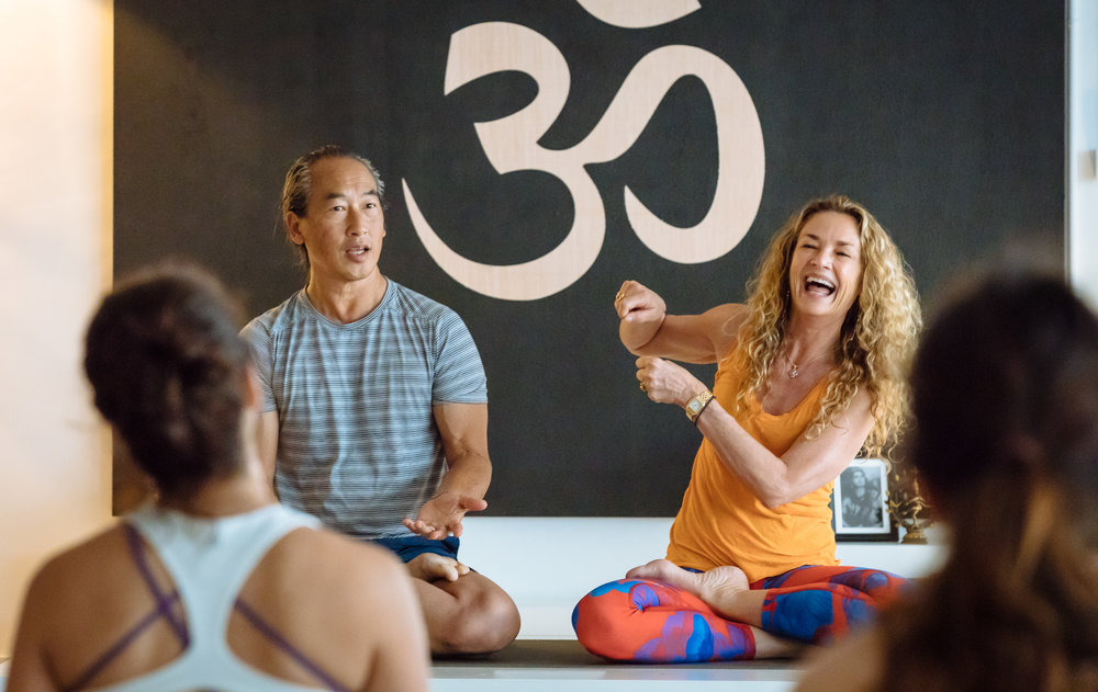 200-Hour Yoga Shanti Teacher Training with Colleen Saidman Yee and Rodney Yee -