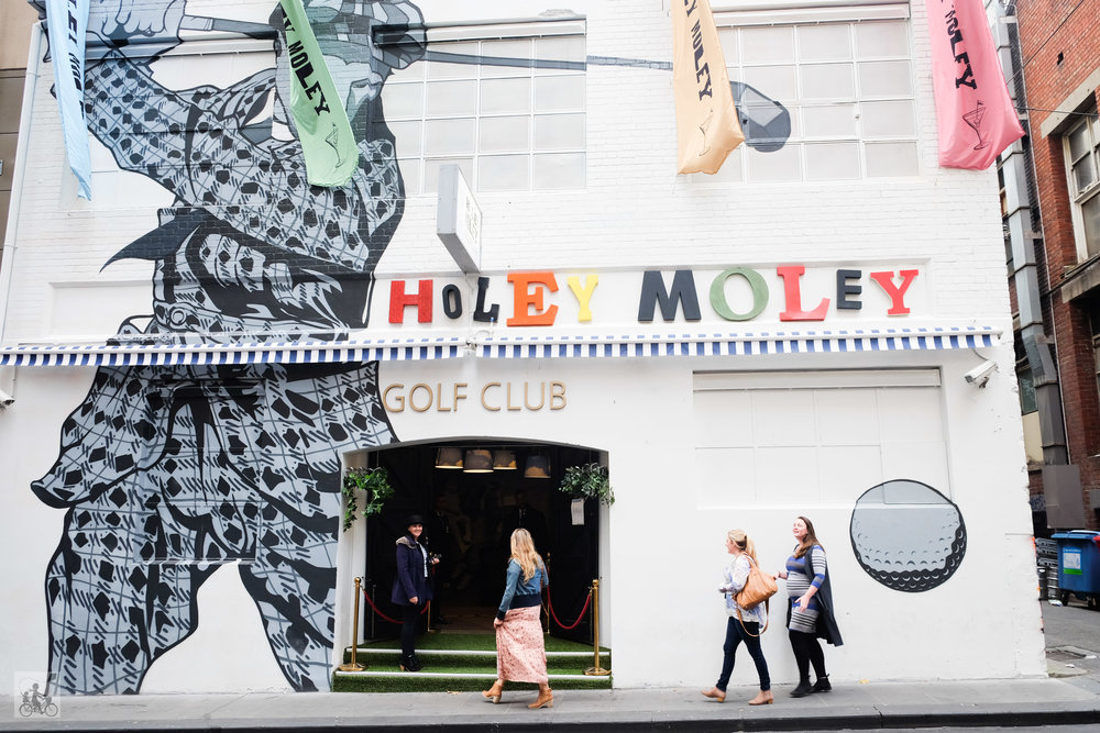 holey moley golf, melbourne - mamma knows north