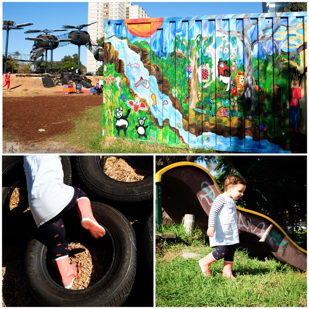 fitzroy adventure playground, fitzroy north - mamma knows north