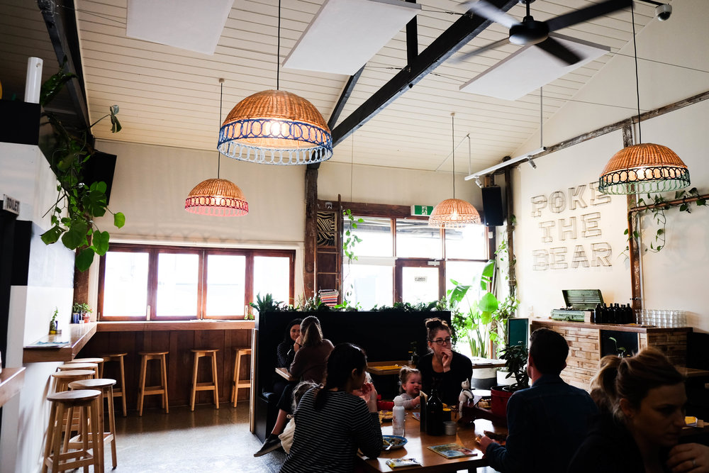poke the bear, northcote - mamma knows north