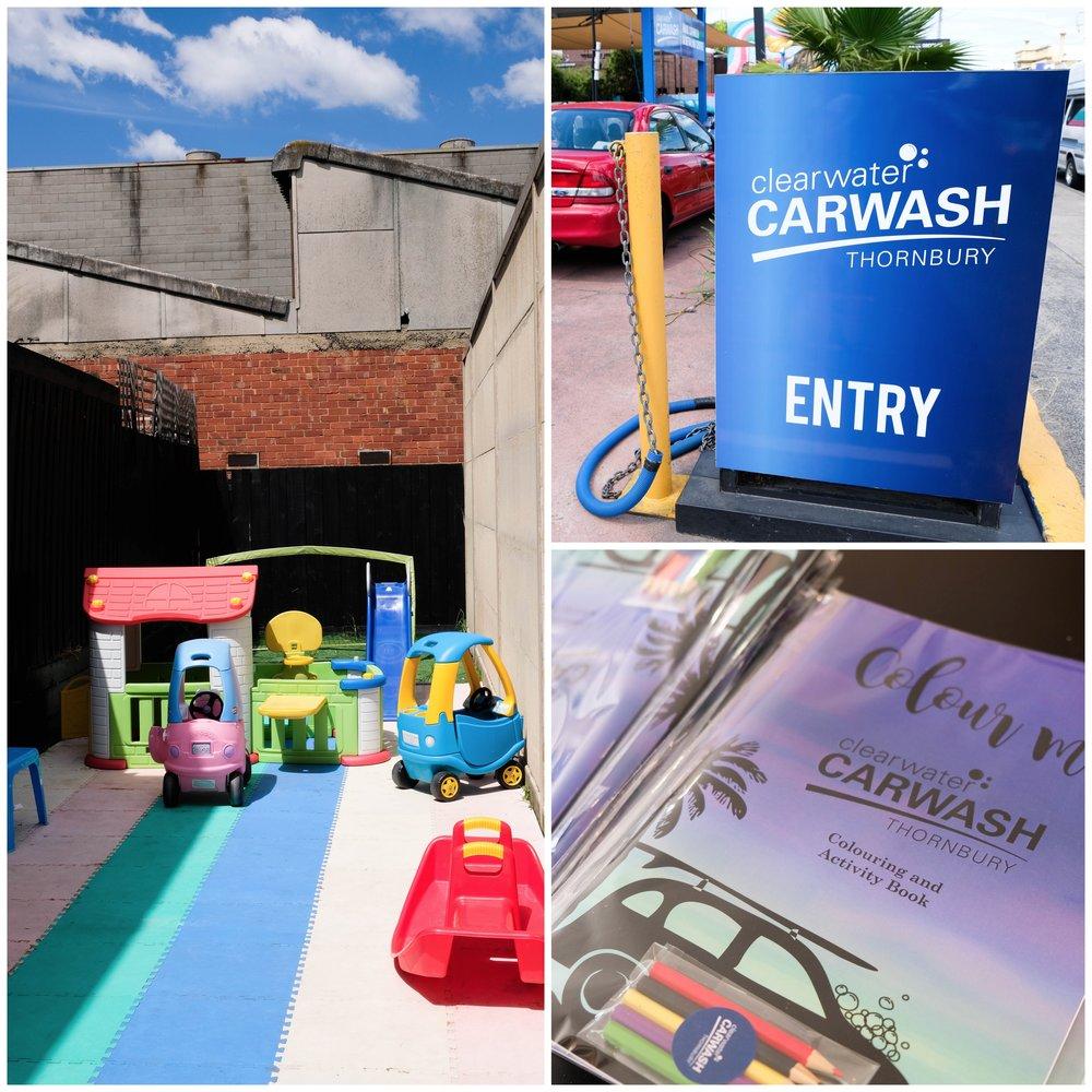clearwater carwash, thornbury - mamma knows north
