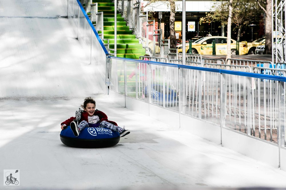 Ice Slide The District Docklands - mamma knows north
