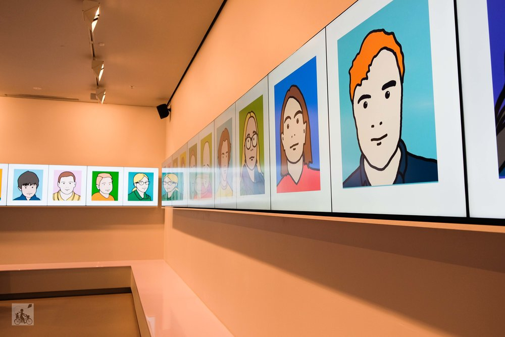 julian opie for kids at ngv - mamma knows north