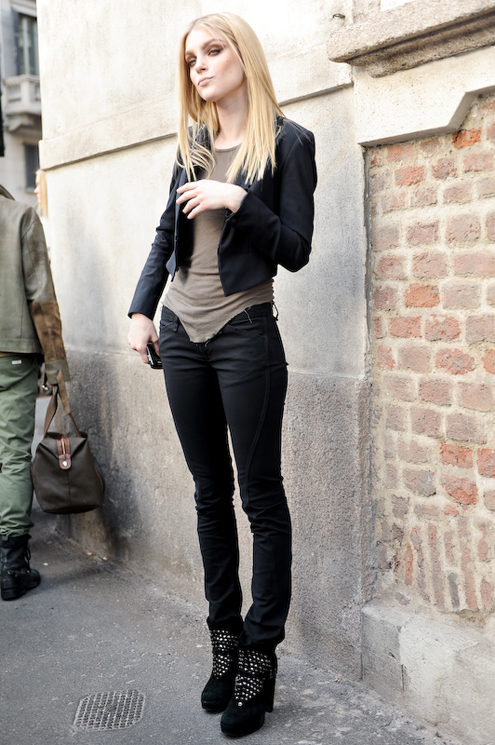 Jessica Stam Street Style