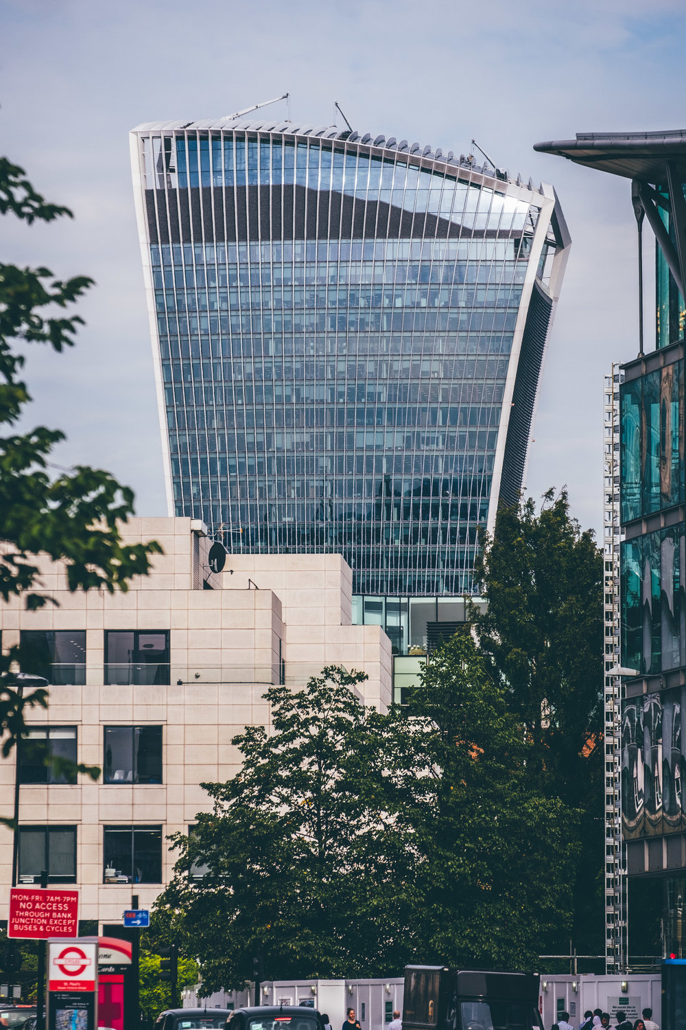 Walkie Talkie | Street Level View