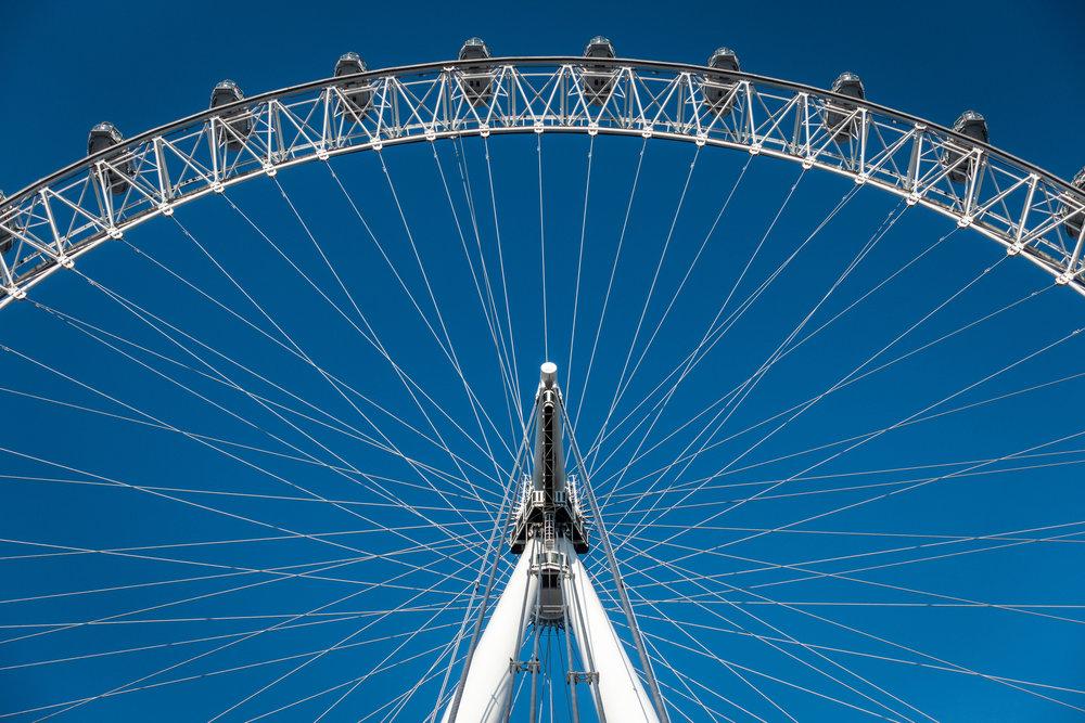 London Eye | Spokes