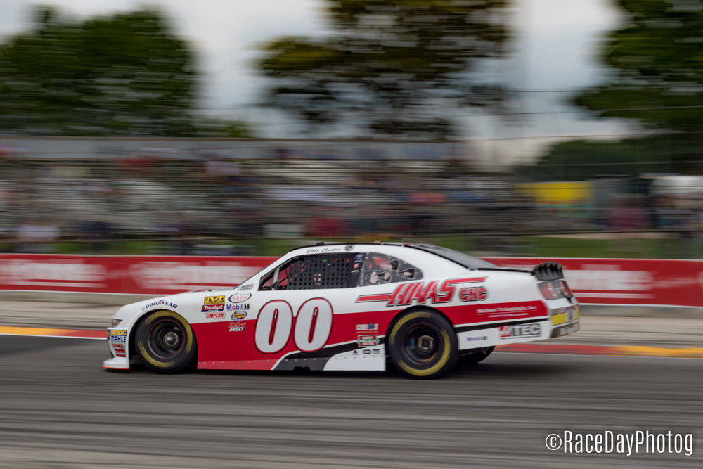Cole  Custer braking into Turn 5 Canon 7D Mk II 50mm f/1.8 50mm 1/60 sec f/16 ISO 200 (8/26/2017)