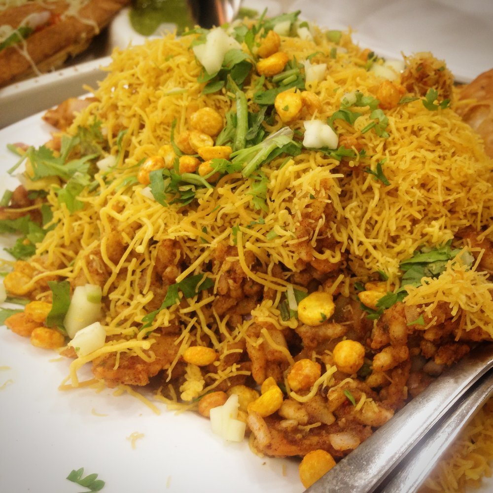 Sev puri at Elco Mumbai