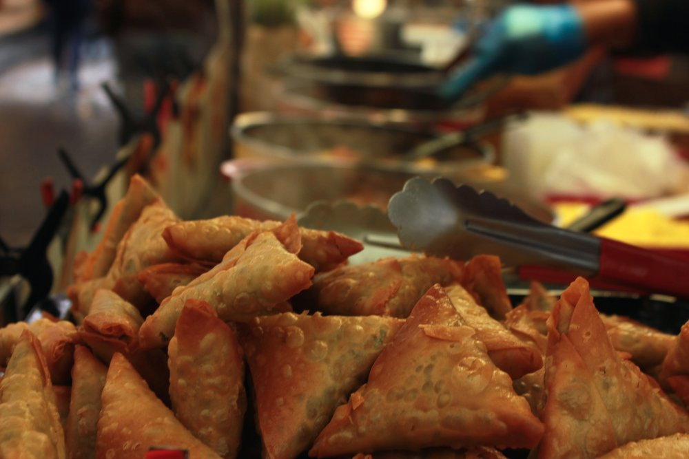 Sambosa at Greenwich Market London
