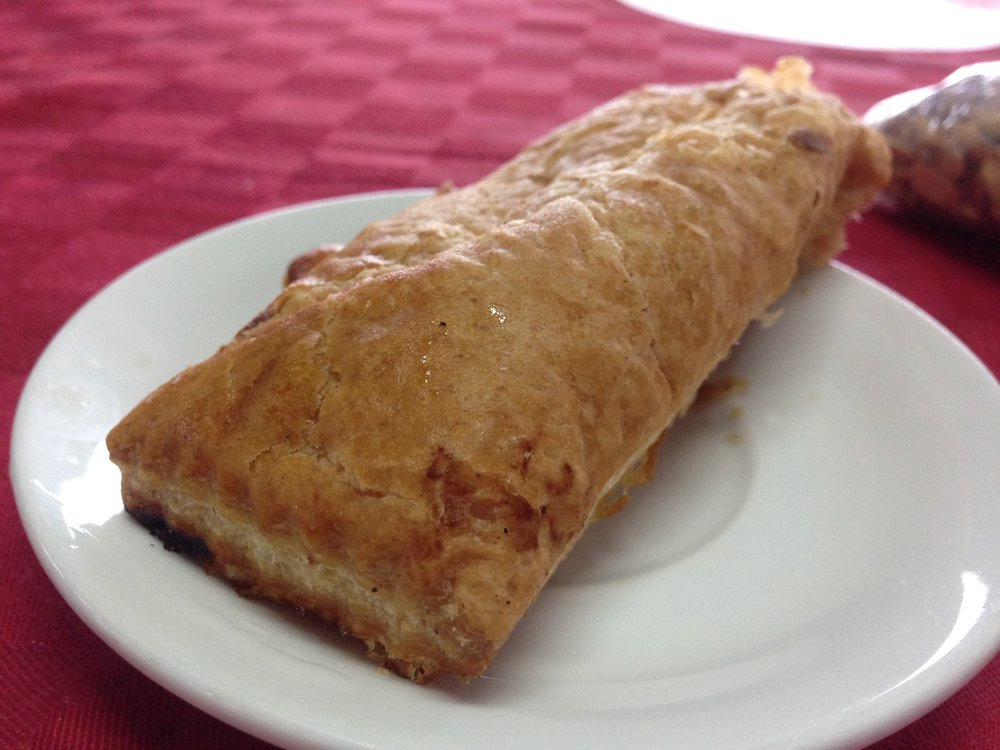 food in Cuba - guava pastal