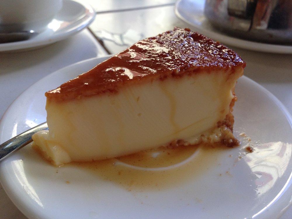 food in cuba - flan