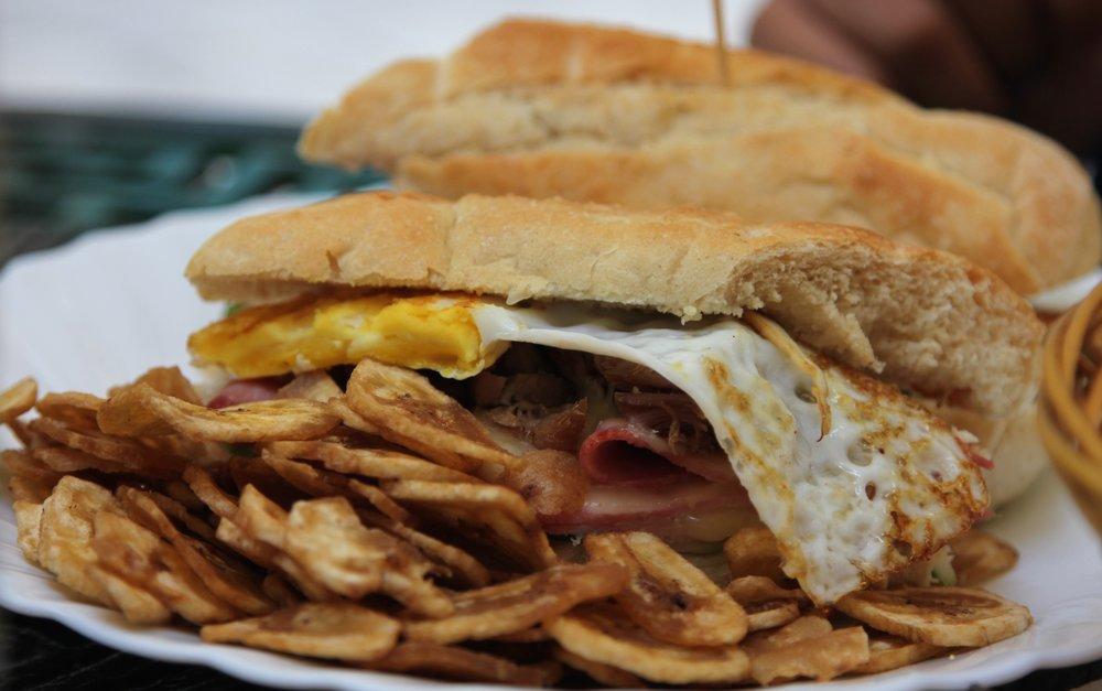food in cuba - cuban sandwich
