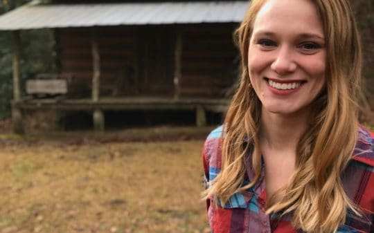 Kami Ahrens - Originally from the St. Louis area, Kami moved to Northeast Georgia after graduating with a master's in historical archaeology from the University of Nebraksa-Lincoln. At the Foxfire Museum and Heritage Center, Kami serves as the assistant curator and educational outreach coordinator, and is responsible for supporting and developing heritage and education-based projects. She divides her time between collections management, artifact analysis and interpretation, exhibit development, magazine editing, and various outreach activities for local schools and organizations. Kami is passionate about preserving history, promoting heritage, and engaging with visitors and the local community. She has a penchant for baking breads and desserts, which everyone in the Foxfire offices are happy to sample on a regular basis.asstcurator@foxfire.org