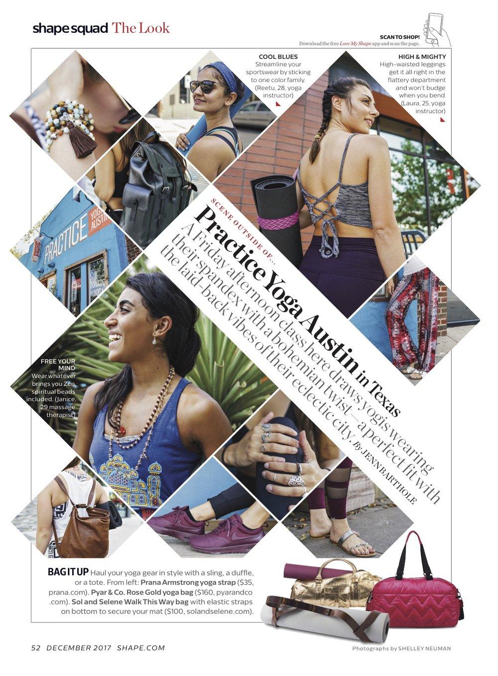 Shelley Neuman Shape Magazine Yoga Athletic Athleisure Street Style Tear Sheet.jpg