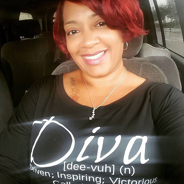 It's a customer highlight! Say Hi There! to @shedidthateventsllc wearing our #DivaDefined Long-Sleeved Tee! #LinkInProfile Thank you Tina, owner of SHE DID THAT, LLC for your continued support!  #CustomerSupport #DivatudeCollection #DivaDefined #femaleentrepreneur #ColumbiaSC #SheDidThat #livelovelaugh #smallbusinessowner #supportsmallbiz #supportblackbiz #womanowned #blackowned #tshirtoftheday #monday #divapreneur #diva #buynow