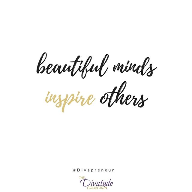 Who will you inspire this week? 👜 #Divapreneur #TheDivatudeCollection