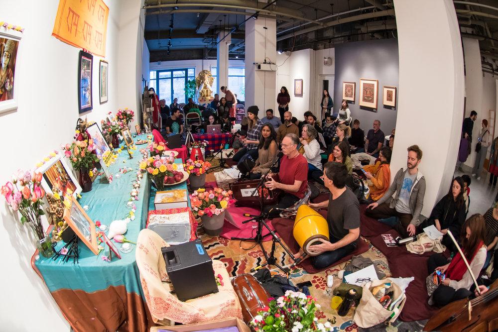 108 Hanuman Chalisas @ Tibet House.jpg