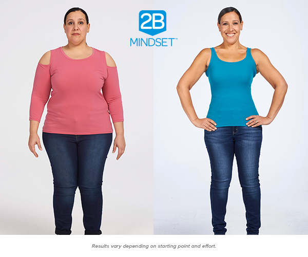 """Lakmini B.lost 73 pounds - """"Not only am I 73 pounds lighter, but I feel like I can take on the world. I've never felt so vital or content. Because Ilana understands we are all different, I learned so much about myself on this program — not just which foods aid in weight loss — but about trusting myself, learning not to emotionally eat, recognizing signs of true hunger, and learning what it is to be satisfied. With the 2B Mindset, you'll actually enjoy weight loss,"""" says Lakmini."""