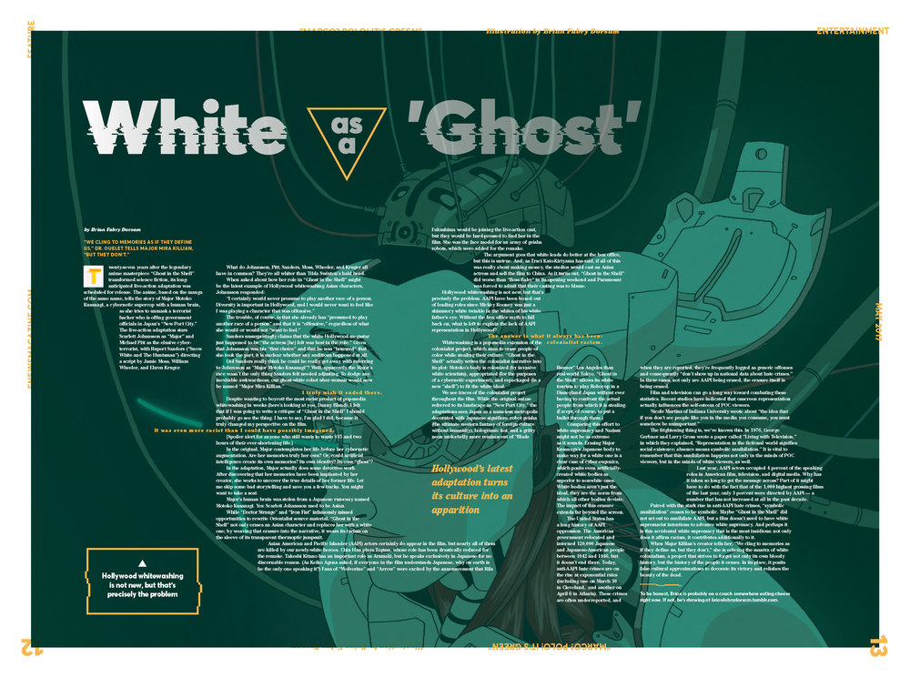 White as a Ghost, May 2017