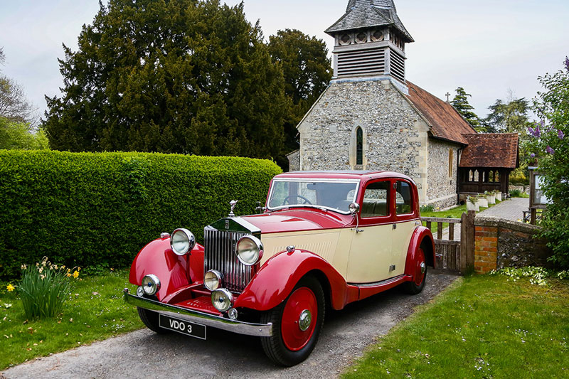 1930 Rolls-Royce 20/25 Hooper sports saloon