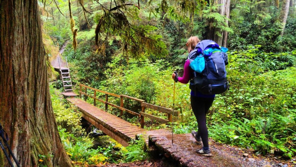 Hiking The 75km West Coast Trail - Ashlyn from the Lost Girls Guide. Read about Ashlyn's experience hiking the muddy and wet West Coast Trail in British Columbia, Canada. Click here to read more and start planning your next hike!