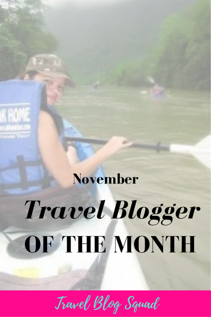 November Travel Blogger of the Month - Jo. Click here to read more of Jo's story and what inspired her to create a travel blog in the first place. Learn how she turned her passion for travel into a full time gig and what she enjoys most about travel blogging. Read more and click to join the 8 Day Travel Blog Bootcamp!