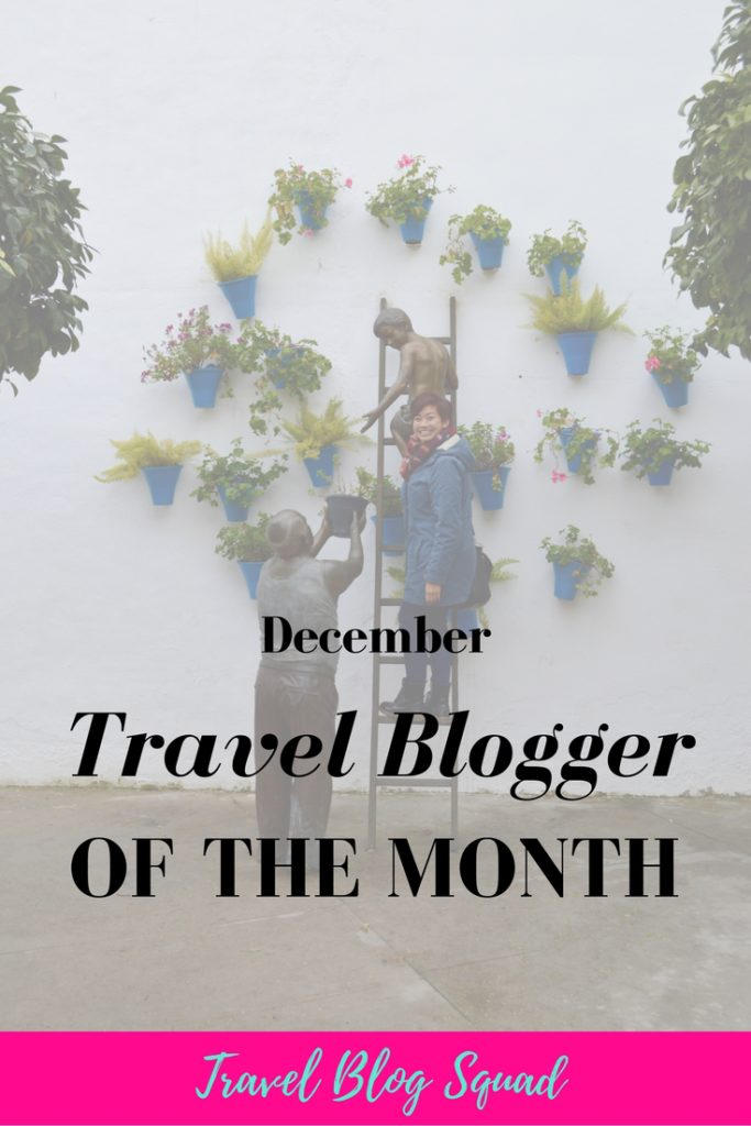 December Travel Blogger of the Month - Cassandra from The Quirky Pineapple
