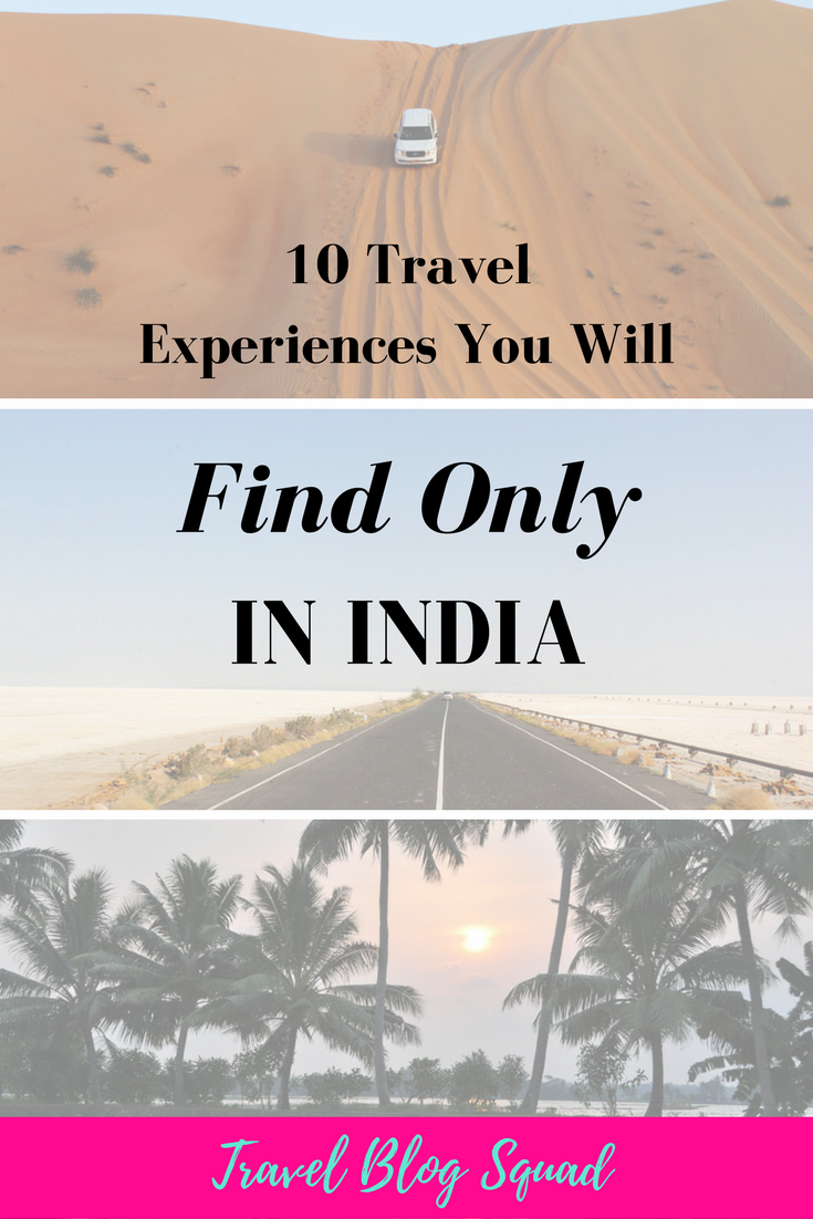 10 Travel Experiences You Will Only FInd In India. From watching the sunset in Alleppey to seeing the Taj Mahal at midnight, there is an experience that will wow you. Click here to read this guest post from Rohit of TransIndia.